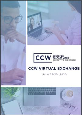 View Event Agenda - CCW Virtual Exchange June 2020