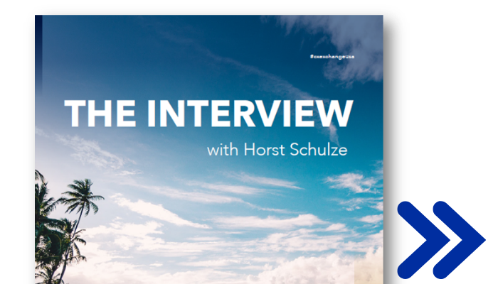 [Interview] Founding President and COO of Ritz-Carlton, Horst Schulze