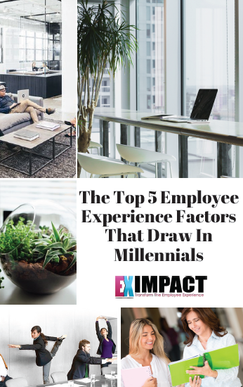 The Top 5 Employee Experience Factors That Draw in Millennials