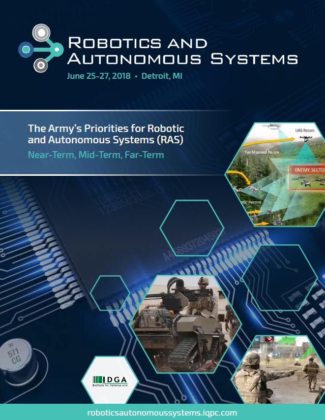 The Army's Priorities for Robotic & Autonomous Systems (RAS): Near-Term, Mid-Term, & Far-Term