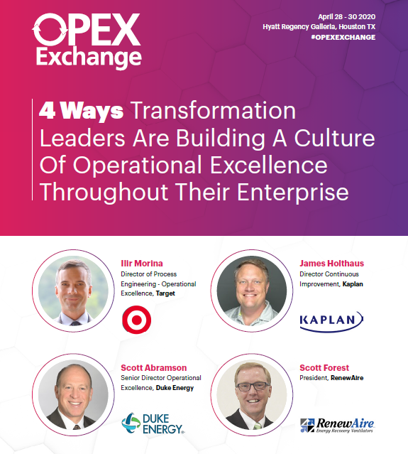 4 Ways To Build A Culture Of Operational Excellence