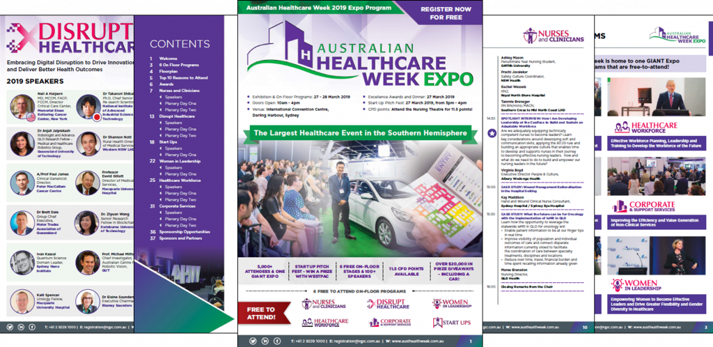 Australian Healthcare Week 2019 - Expo Program
