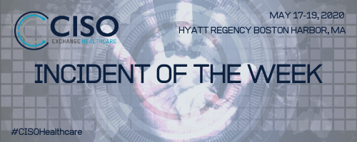 Incident of the Week 1/10/2020
