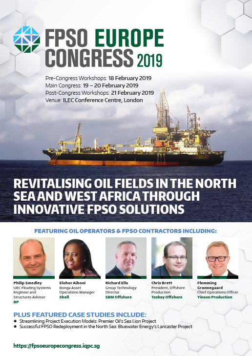 View Agenda - FPSO Europe Congress 2019