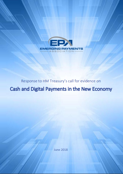 Response to HM Treasury's call for evidence on Cash and Digital Payments in the New Economy