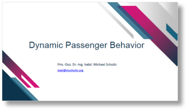 DLR Presentation on Dynamic Passenger Behaviour