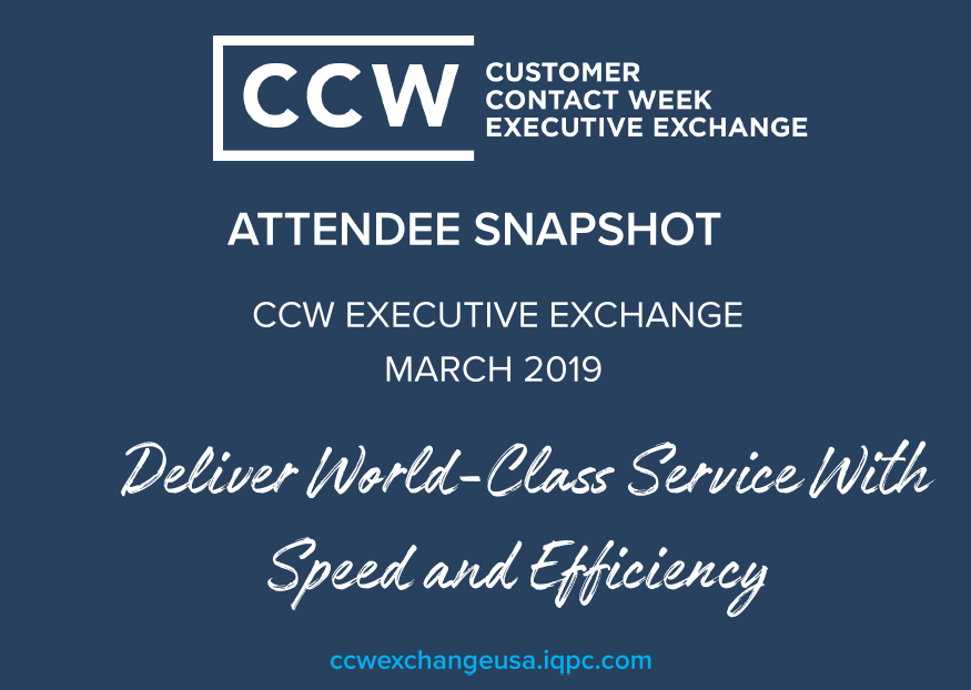 CCW Exchange Expected Attendee List