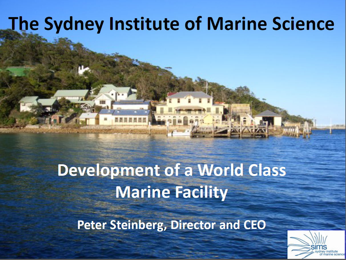 Repurposing a Former Military Base to a Modern Marine Science Facility