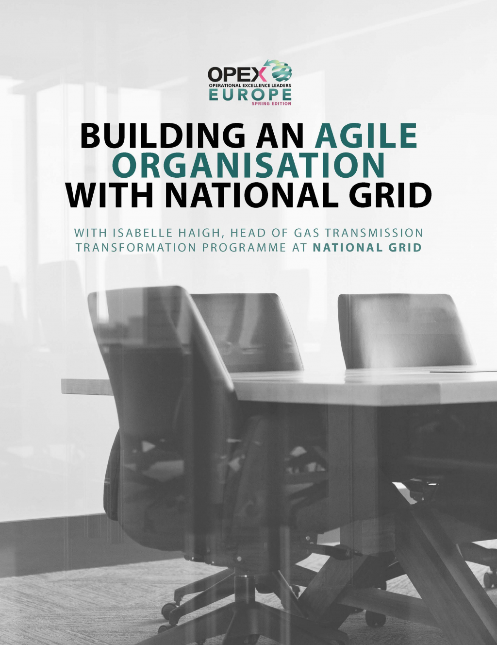 Building an agile organisation with National Grid
