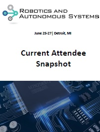 Robotics & Autnomous Systems Current Attendee Snapshot