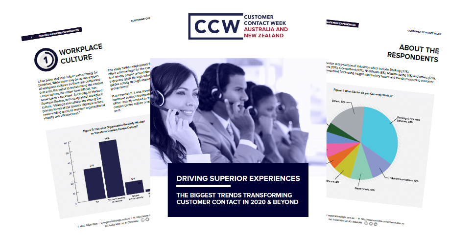 Driving Superior Experiences: The Biggest Trends Transforming Customer Contact in 2020 and Beyond