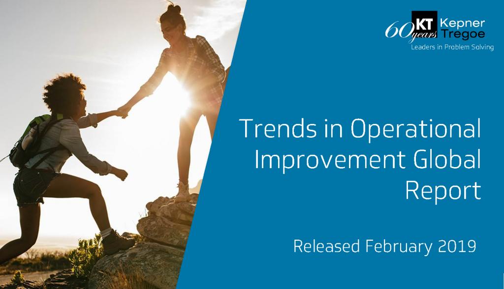 Kepner-Tregoe Global OPEX Trends Report