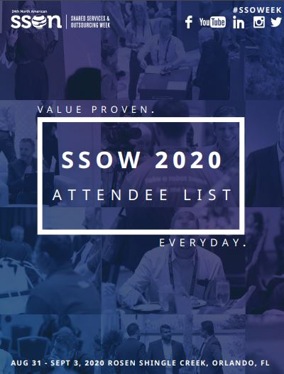 SSOW 2020: Current Attendee List