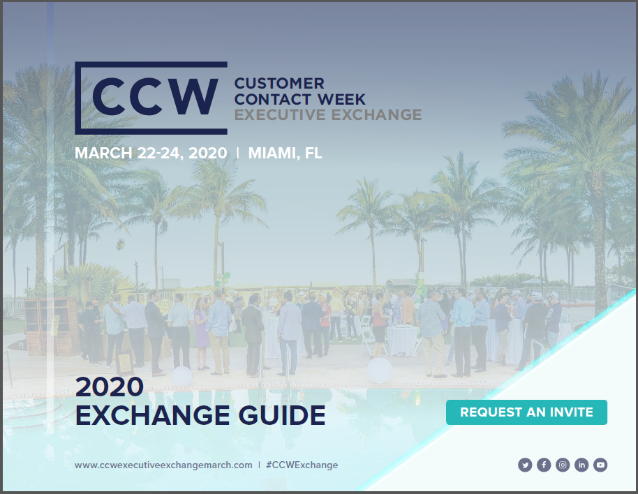 View the Event Agenda | CCW Executive Exchange Miami 2020