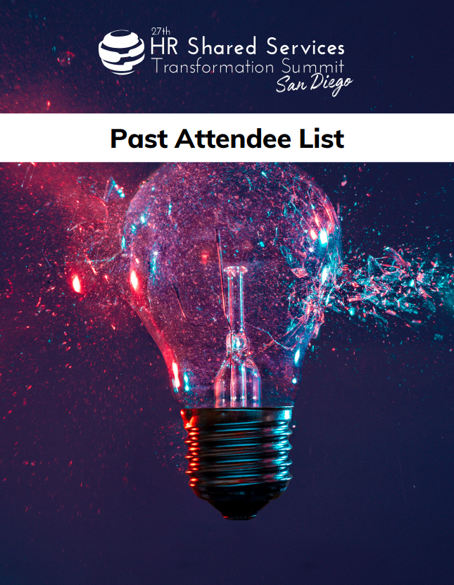 Attendee List for Solution Providers