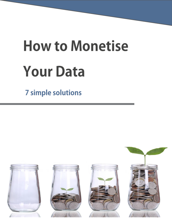 How to Monetise your Data