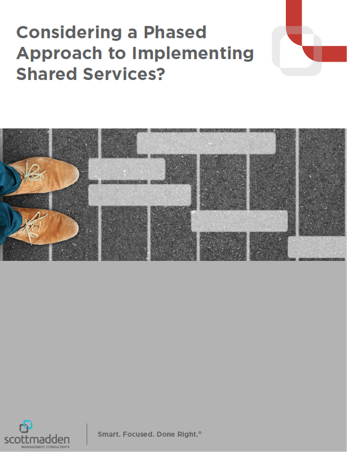 Considering a Phased Approach to Implementing Shared Services?