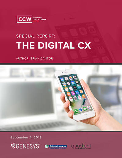 Special Report: The Digital CX