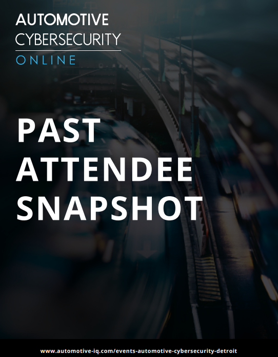 Automotive Cybersecurity Past Attendee Snapshot