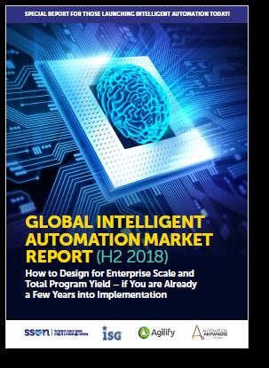 Global Intelligent Automation Market Report (H2 2018)