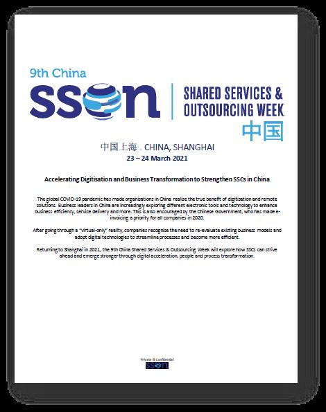 Sneak Preview to SSOW China 2021 Preliminary Agenda