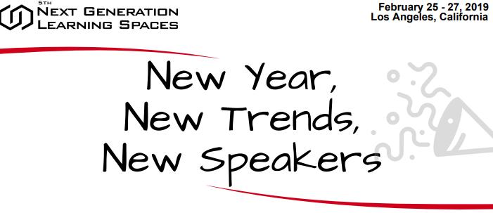 New Year, New Trends, New Speakers!