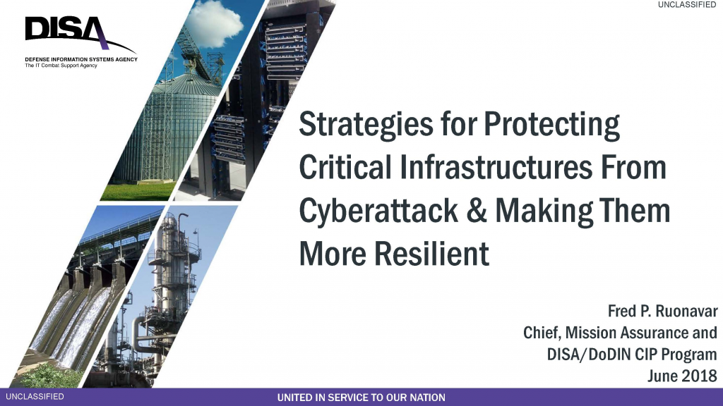 Strategies for Protecting Critical Infrastructures From Cyberattack & Making Them More Resilient