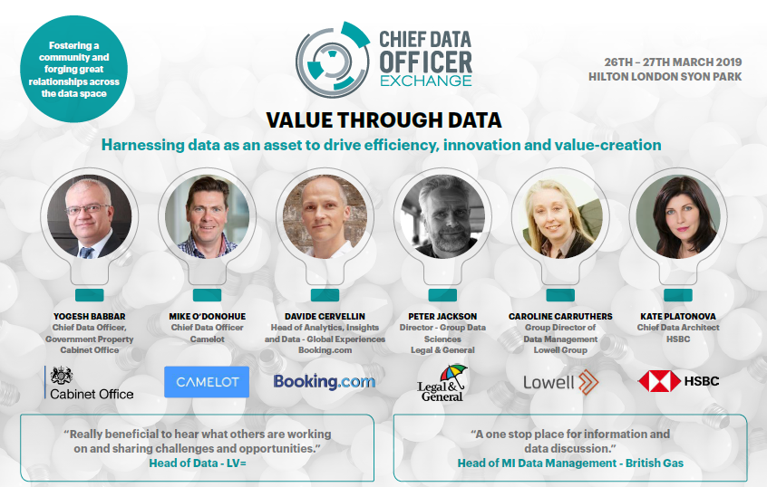 Chief Data Officer Exchange Agenda 2019