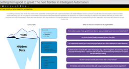 Partner Content: Interactive Report - Getting from Good to Great: Intelligent Automation