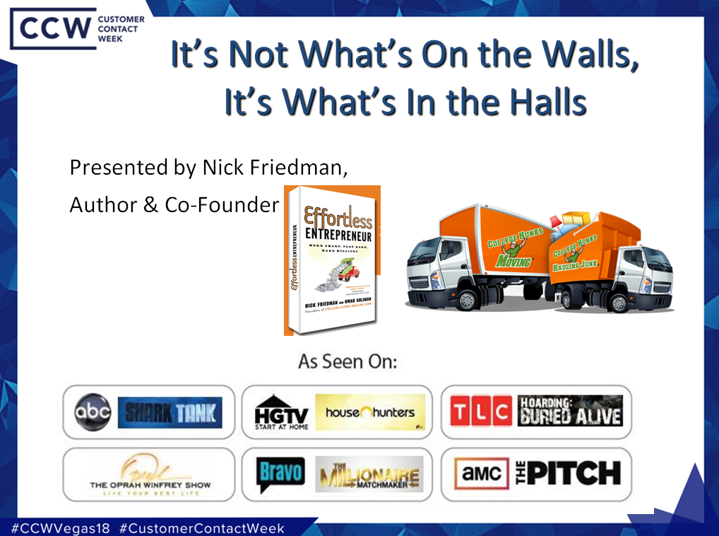 "Presentation: College Hunks Hauling Junk ""It's Not What's in the Halls, It's What's on the Walls"""