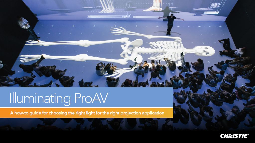 Christie Digital's whitepaper on Illuminating ProAV