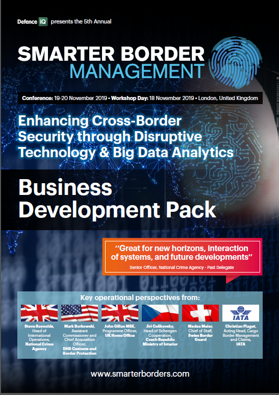 Smarter Border Management Business Development Pack 2019