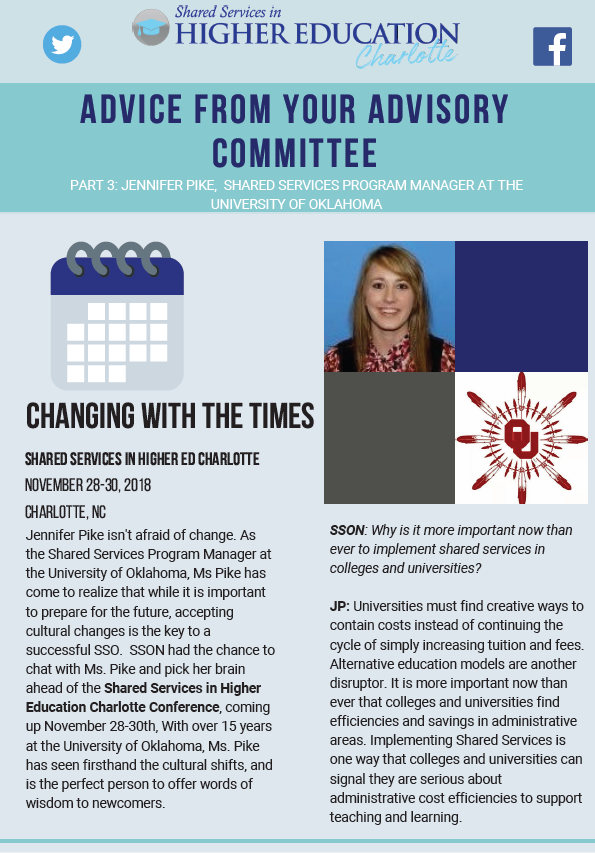 Advice From Your Advisory Committee, Part 3: Changing with the Times