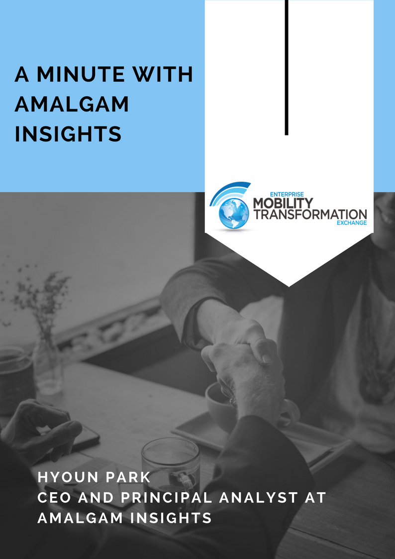 Hyoun Park CEO and Principal Analyst at Amalgam Insights Interview