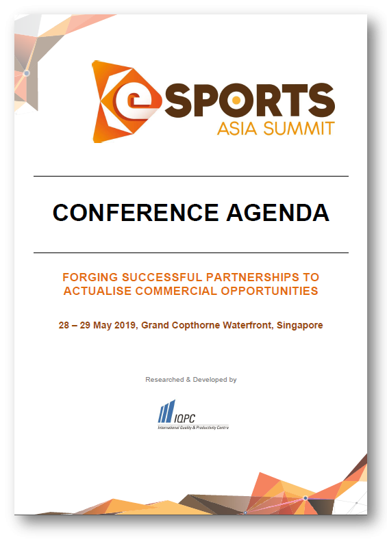 Learn more about 2nd Esports Asia Summit 2019