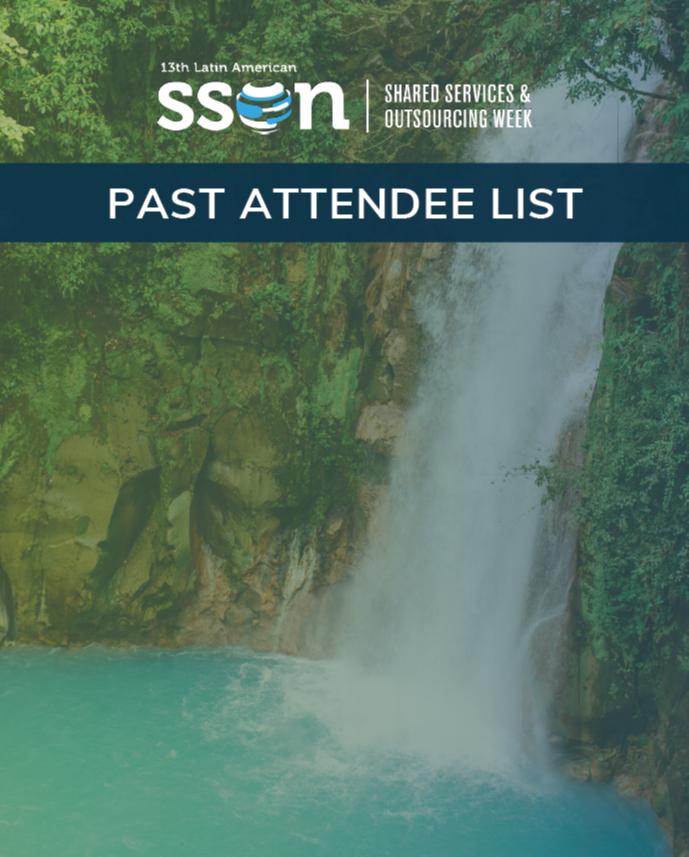 SSOW LATAM 2019: Past Attendee List for Sponsorship