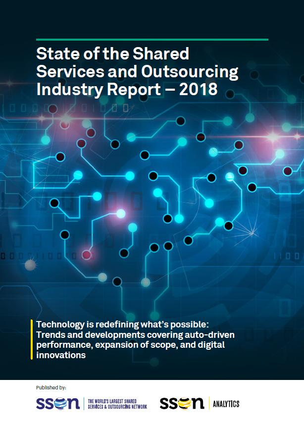 State of the Shared Services and Outsourcing Industry Report 2018: Trends and Developments in Digital Innovations