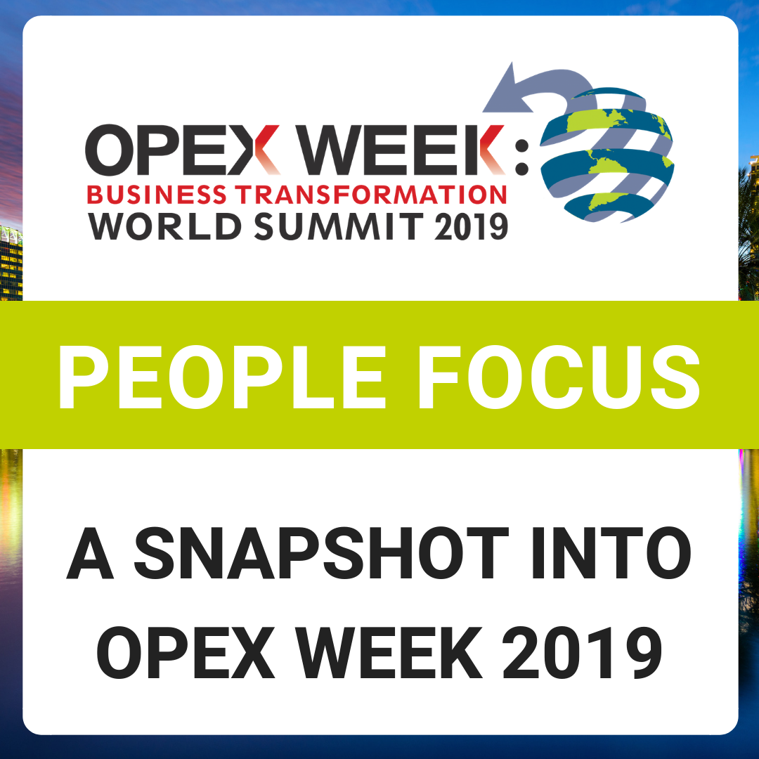 OPEX Week 2019 - Top Sessions with a People Focus