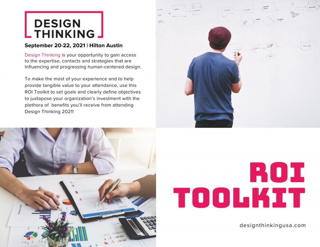 Design Thinking 2021 ROI Toolkit