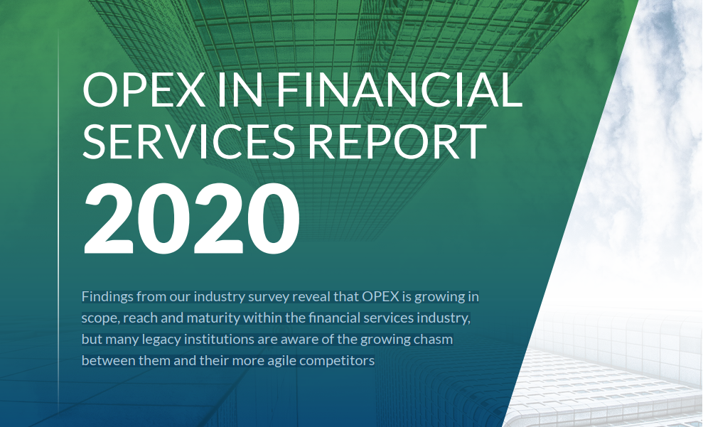 OPEX in Financial Services Report 2020