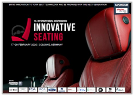 15th Innovative Seating Conference Agenda