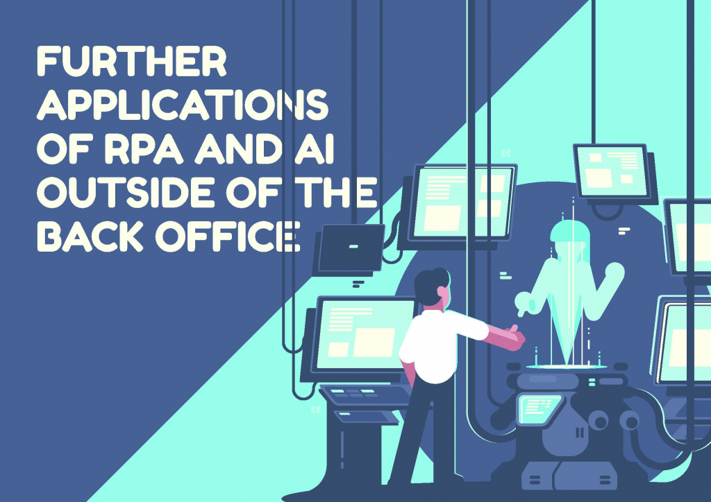 Download the ebook - Further Applications of RPA and AI Outside of The Back Office