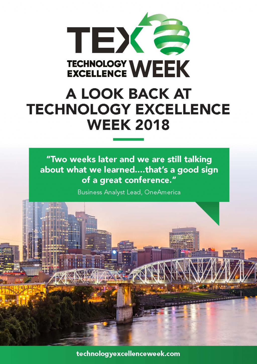 A Look Back at Technology Excellence Week 2018