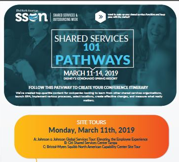 Shared Services 101 Attendee Pathway