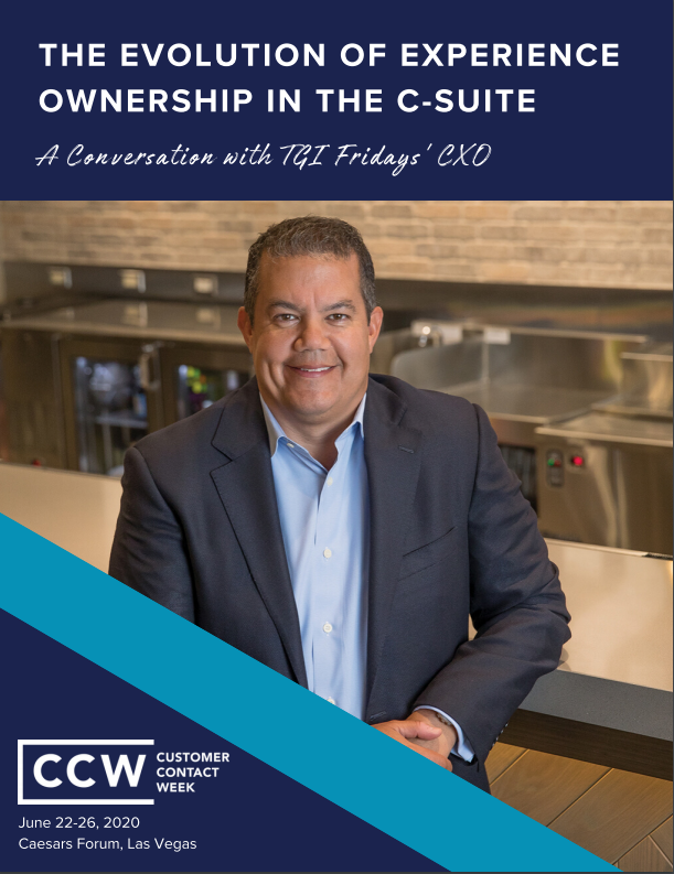 The Evolution of Experience Ownership in the C-Suite: A Conversation with TGI Fridays' CXO