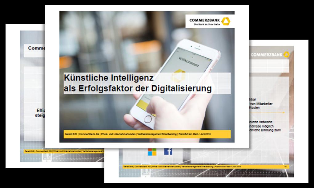 Präsentation: Künstliche Intelligenz als Erfolgsfaktor der Digitalisierung
