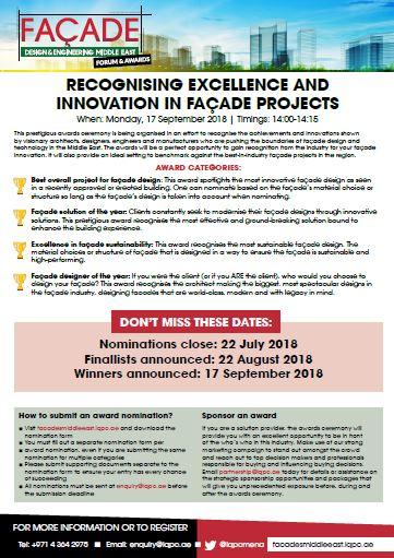 Facade Awards Nomination Form
