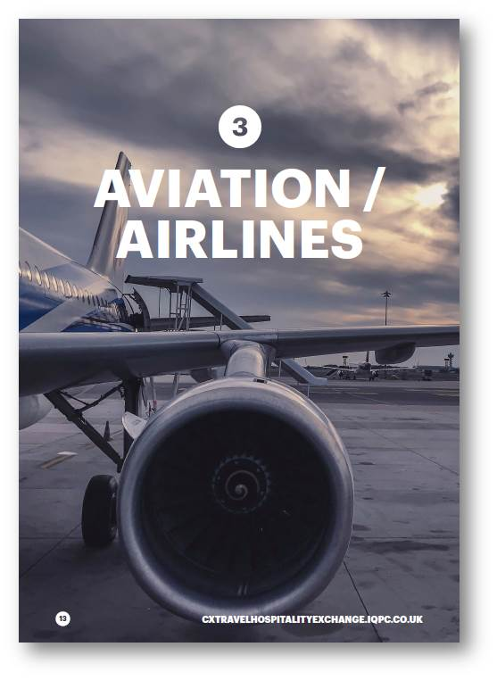 Connecting the Customer Journey for Airlines and Aviation