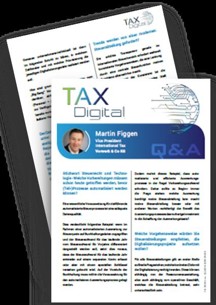 Interview mit VP International Tax bei Vorwerk