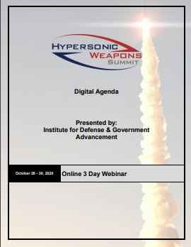 Hypersonic Weapons Fall Agenda